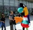 Das EXPO2000 - Maskottchen Twipsy auf der EXPO